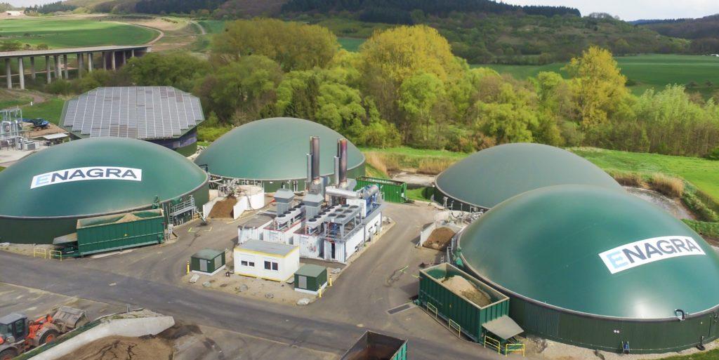 Biogasanlage in Platten
