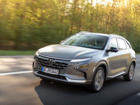 Pkw mit Brennstoffzelle: Hyundai Nexo