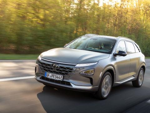 Auto mit Brennstoffzelle: Hyundai Nexo