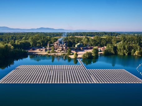 Schwimmende Photovoltaik Renchen