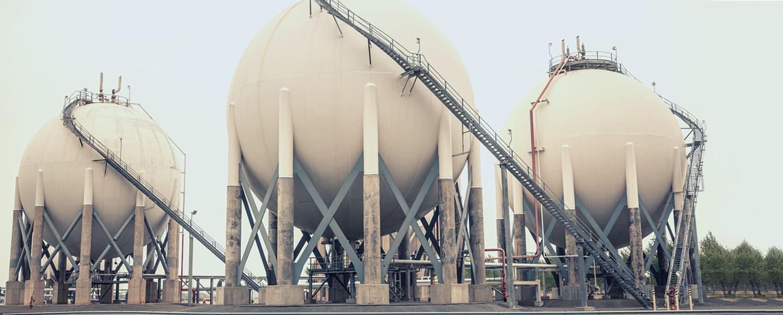 Gas-Aufbewahrungs-Tanker