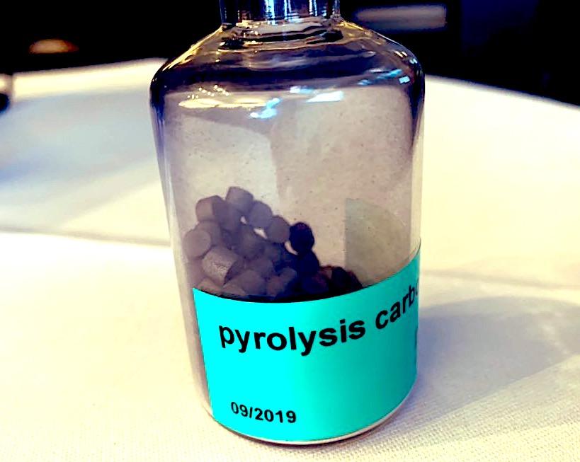 Kohlenstoff-Pellets Methanpyrolyse