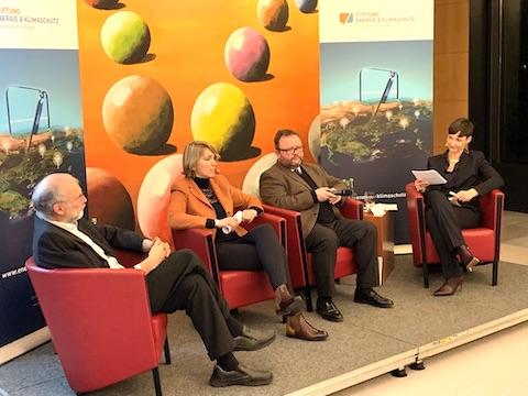 Podium Veranstaltung Wasserstoff