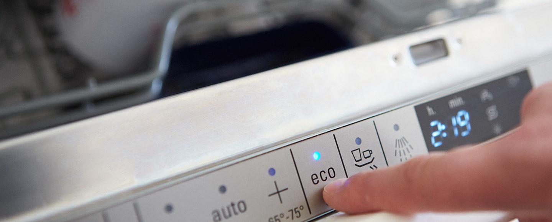 Energiesparen Geschirrspüler mit Eco-Taste