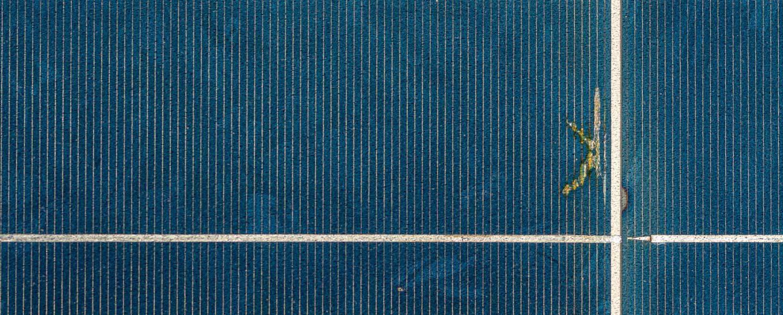 Technische Störung an Solarmodul