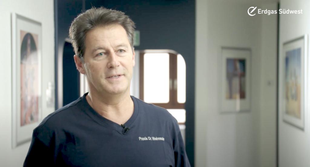Porträtfoto Dr Weinreuther Interview Brennstoffzellenheizung