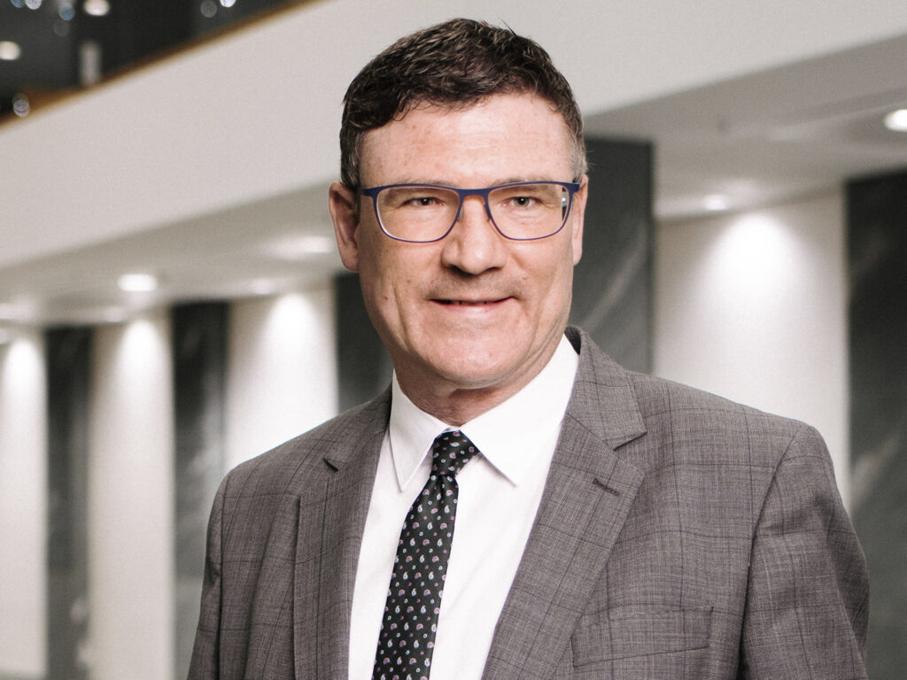 Dr. Stefan Kaufmann ist Innovationsbeauftragter Grüner Wasserstoff